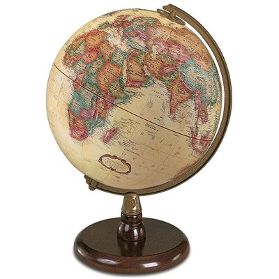 9'' Raised-Relief World Globe