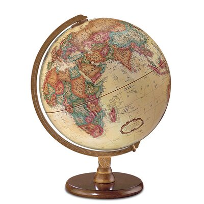 "12"" Antique French or English World Globe"