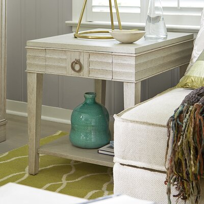 Dianna End Table Color: Malibu