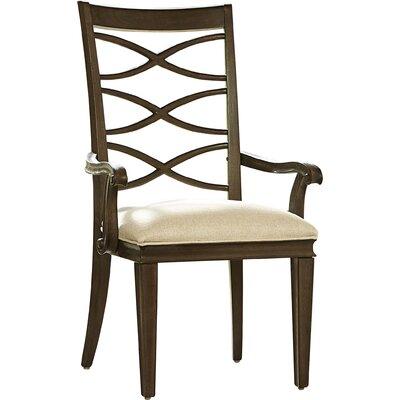 Dianna Arm Chair (Set of 2) Arm Chair Finish: Hollywood Hills