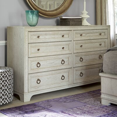 Dianna 8 Drawer Dresser Color: Malibu