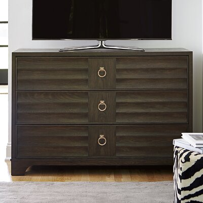 Dianna 3 Drawer Media Chest Color: Hollywood Hills