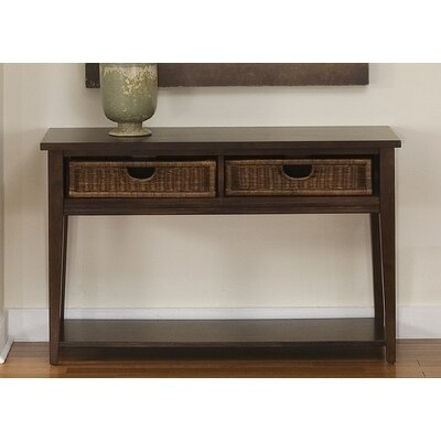 Lipsky Basket Console Table