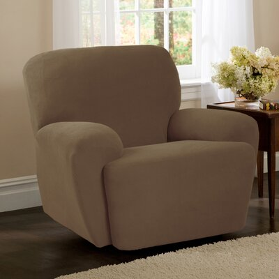 T-Cushion Recliner Slipcover Upholstery: Sand