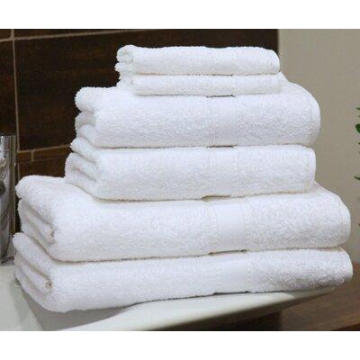 6 Piece Turkish Cotton Towel Set image