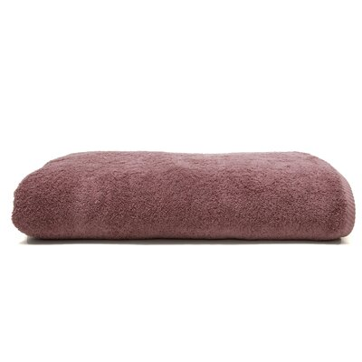 100% Turkish Cotton Soft Twist Bath Sheet Color: Sugar Plum