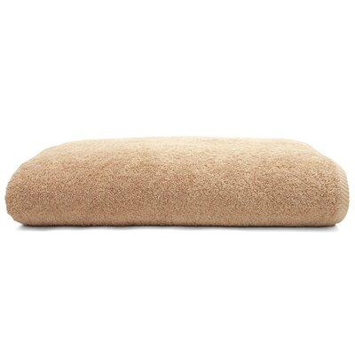 100% Turkish Cotton Soft Twist Bath Sheet Color: Warm Sand