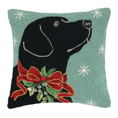 Theiss Lab Hook Wool Throw Pillow
