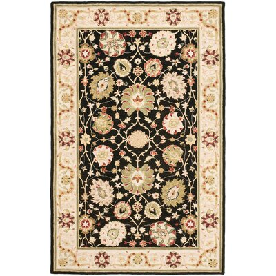 Chuckanut Floral Area Rug Rug Size: Rectangle 53 x 83