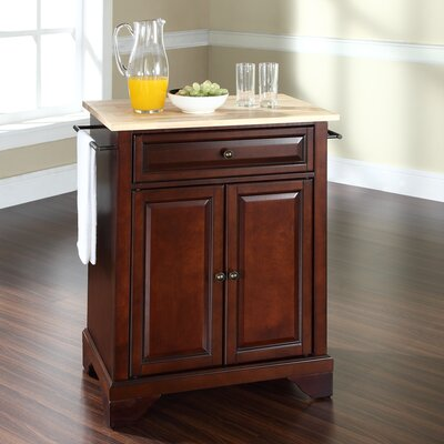 Abbate Kitchen Cart Base Finish: Vintage Mahogany