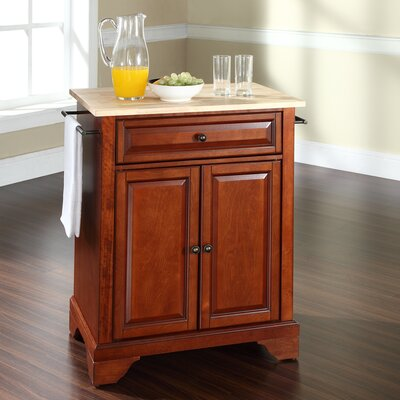 Abbate Kitchen Cart Base Finish: Classic Cherry