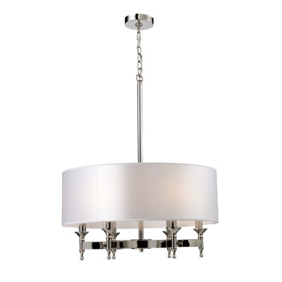 Shawna 6-Light Drum Chandelier