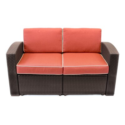 Francine Loveseat with Cushions