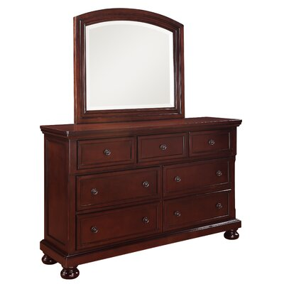 Shelby 7 Drawer Dresser with Mirror
