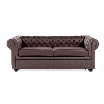 Trina Leather Loveseat