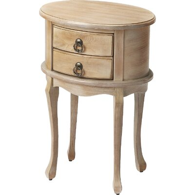 Trisha End Table Finish: Gray
