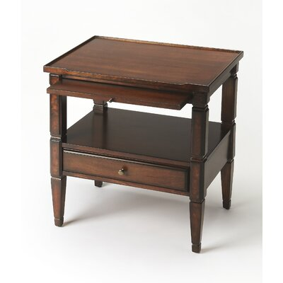 Marissa End Table Finish: Dark Brown