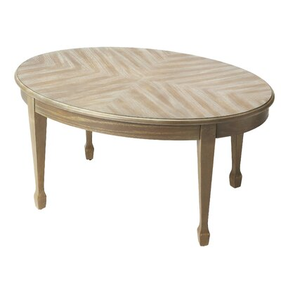 Corinne Coffee Table Color: Driftwood