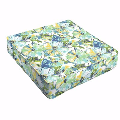 Shoffner Floral Outdoor Dining Chair Cushion