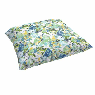 Shoffner Floral Indoor/Outdoor Floor Pillow
