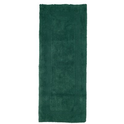 Berndt Extra Long Reversible Bath Rug Color: Green