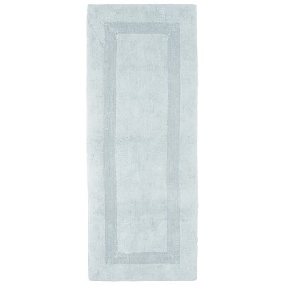 Baysview Extra Long Reversible Bath Rug Color: Seafoam