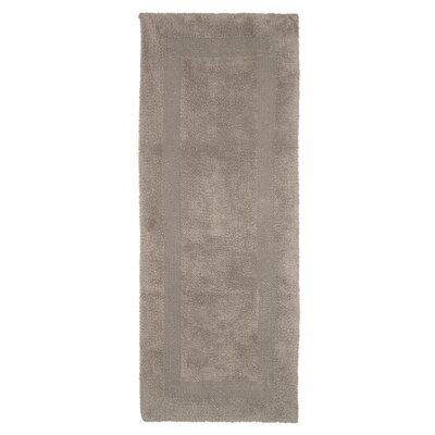 Baysview Extra Long Reversible Bath Rug Color: Taupe