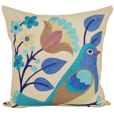Bayview Cotton Throw Pillow