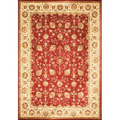 Beecroft Red Area Rug Rug Size: 710 x 112