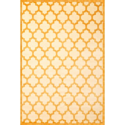Beecroft Tangerine/Ivory Area Rug Rug Size: 710 x 112