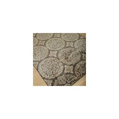 Beecroft Gold/Chocolate Area Rug Rug Size: 7'10