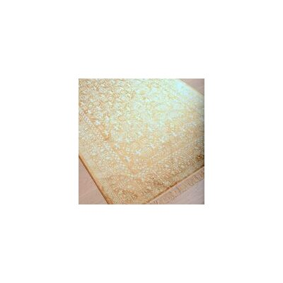 Beecroft Yellow/White Area Rug Rug Size: 5' x 8'