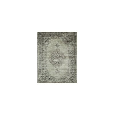 Beecroft Silver/Charcoal Area Rug Rug Size: 7'10