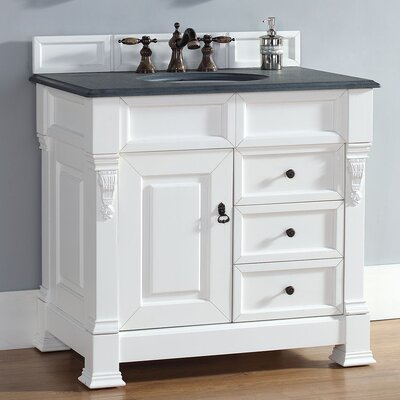 Bedrock 35 Single Cabinet Vanity Base Base Finish: Cottage