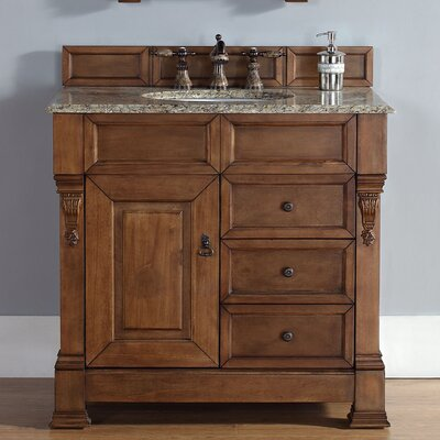 Bedrock 35 Single Cabinet Vanity Base Base Finish: Country Oak