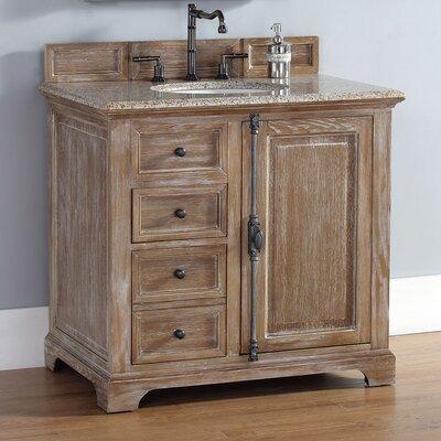 Belhaven 36 Single Cabinet Vanity Base Base Finish: Driftwood