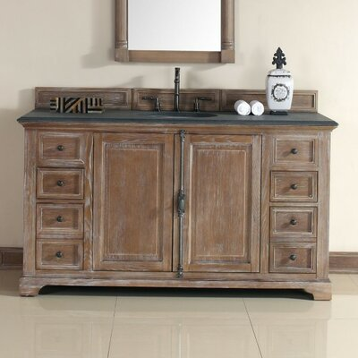 Belhaven 60 Single Cabinet Vanity Base Base Finish: Driftwood