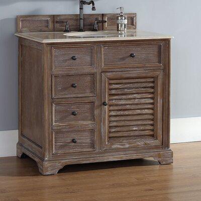Belfield 36 Single Bathroom Vanity Base Base Finish: Driftwood