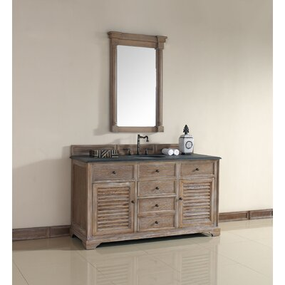 Belfield 60 Single Cabinet Vanity Base SAMPLE Base Finish: Driftwood