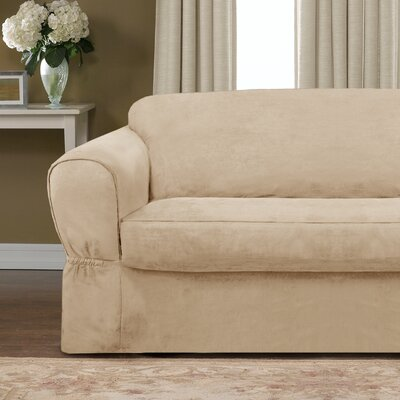 Barras 2 Piece Sofa Slipcover Upholstery: Flax