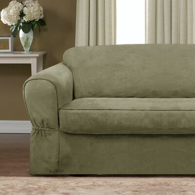 Barras 2 Piece Sofa Slipcover Upholstery: Sage