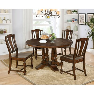 Dee Transitional 5 Piece Dining Set
