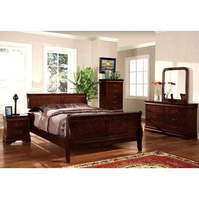 Lucinda Sleigh Bed Size: Queen