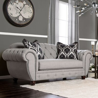 Suffield Chesterfield Loveseat
