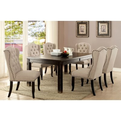Matthew Contemporary Dining Table Size: 30.5 H x 72 W x 42 D