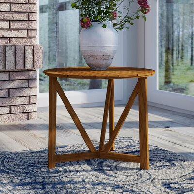 Hollandsworth Side Table Finish: Teak