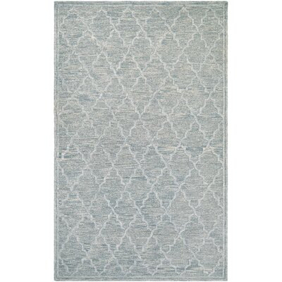 Willisville Hand-Woven Smoke Area Rug Rug Size: Rectangle 97 x 137