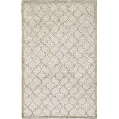 Willisville Hand-Woven Gray/Silver Area Rug Rug Size: Rectangle 6 x 11