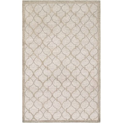 Willisville Hand-Woven Gray/Silver Area Rug Rug Size: Rectangle 95 x 137