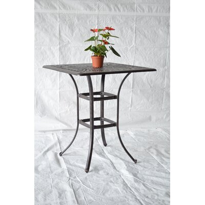 Nola Bar Table Table Size: 64 L x 64 W